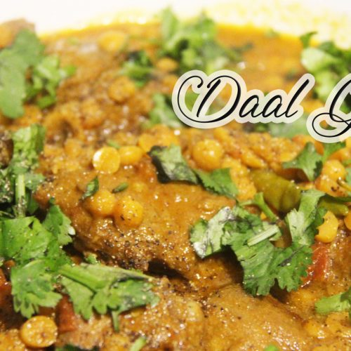 Easy Daal Gosht دال گوشت | Mutton With Gram Lentil