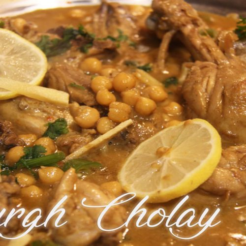 Murgh Cholay | Chicken With Chickpeas/Garbanzo Beans |