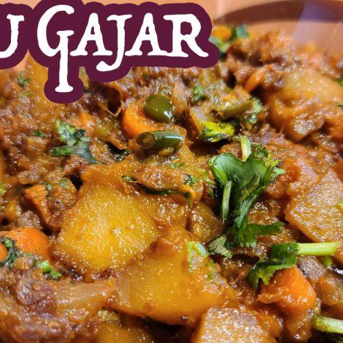 Tasty & Easy Gajar Aloo گاجر آلو | Spicy Potatoes & Carrots